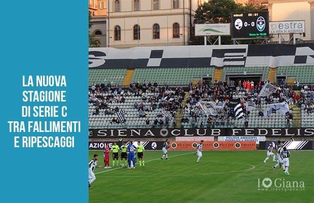 nuova stagione Serie C fallimenti e ripescaggi