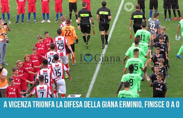 Vicenza Giana 0-0 serie c girone b stagione 2018-2019