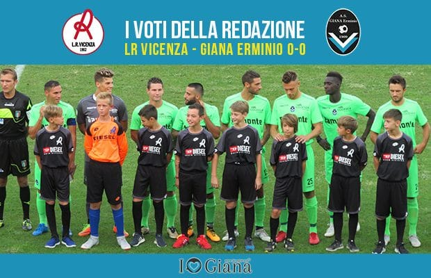 Pagelle LR Vicenza Giana 0-0
