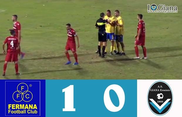 3 Fermana Giana Erminio 1-0 serie C girone B