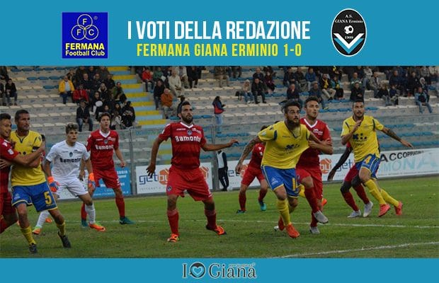 3 giornata Pagelle Fermana Giana 1-0