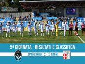 Giana Erminio Rimini 2-2 risultati e classifica 5 giornata serie C girone B