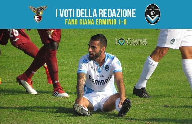 6 giornata Pagelle Fano Giana 1-0
