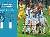 Giana Erminio Ravenna 1-1 serie C girone B