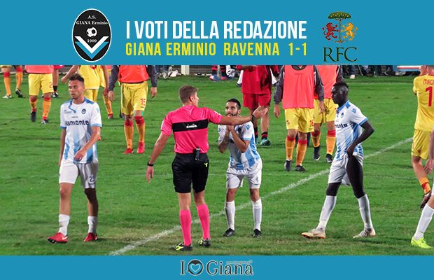 7 giornata Pagelle Giana Ravenna 1-1