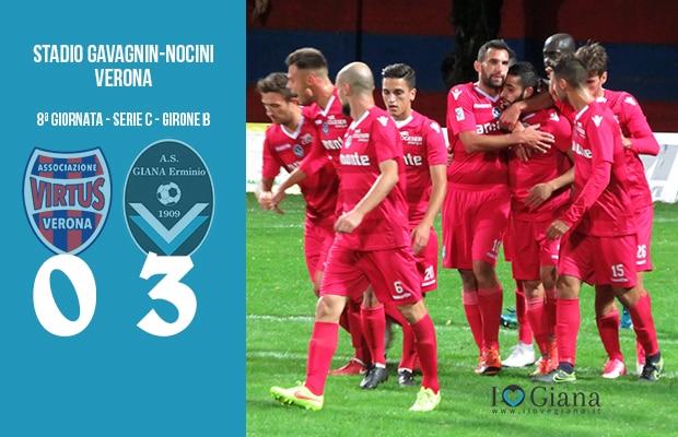 8 Verona V Giana Erminio 0-3 serie C girone B