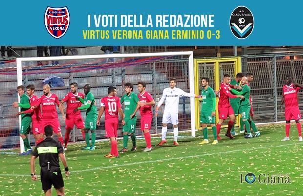 8 giornata Pagelle Verona Giana 0-3