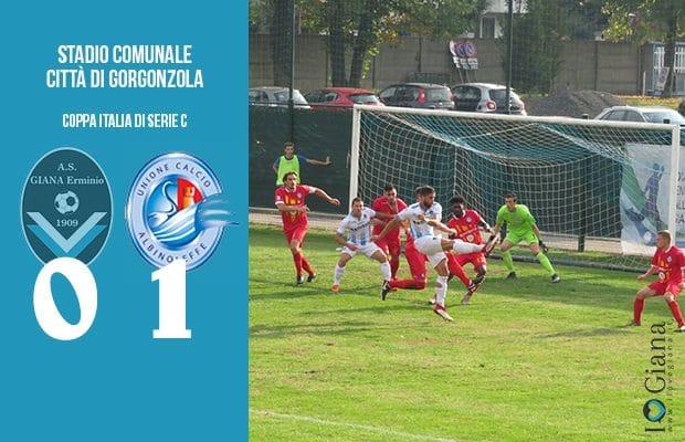 Giana Erminio Albinoleffe 0-1 Coppa Italia