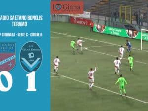 13 Teramo Giana Erminio 0-1 serie C girone B