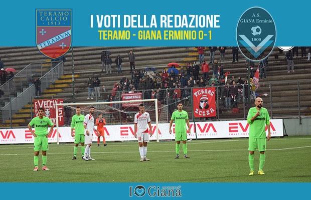 13 giornata Pagelle Teramo Giana 0-1