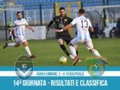 14 Giana Erminio Feralpisalò 2-4 risultati e classifica 14 giornata serie C girone B