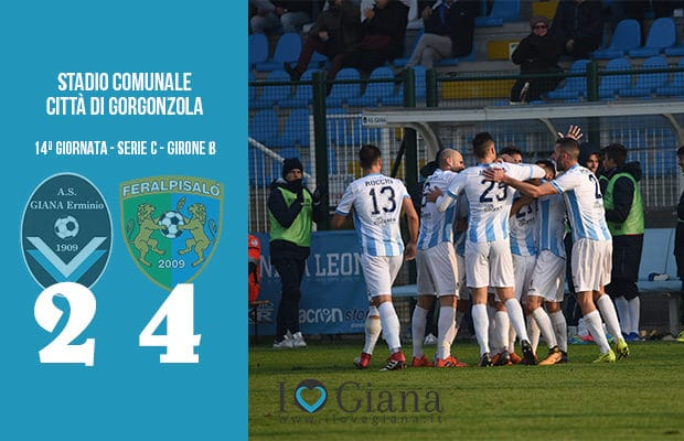 14 Giana Erminio Feralpisalò 2-4 serie C girone B