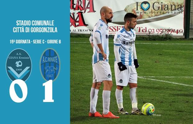 16 Giana Erminio Renate 0-1 serie C girone B