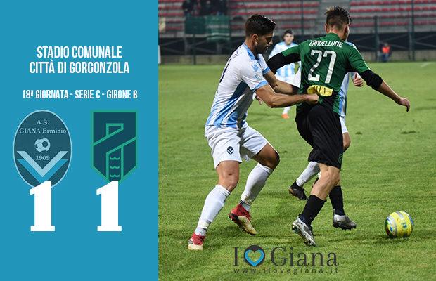 18 Giana Erminio Pordenone 1-1 serie C girone B