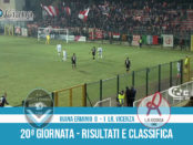 20 Giana Erminio Vicenza 0-1 risultati e classifica 20 giornata serie C girone B