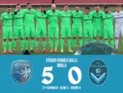 Imolese Giana Erminio 5-0 serie C girone B