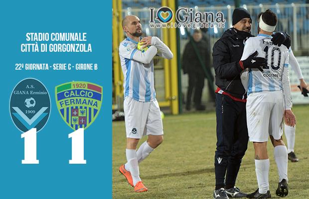 22 Giana Erminio Fermana 1-1 serie C girone B