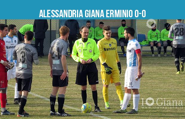 Alessandria Giana Erminio 0 a 0 amichevole