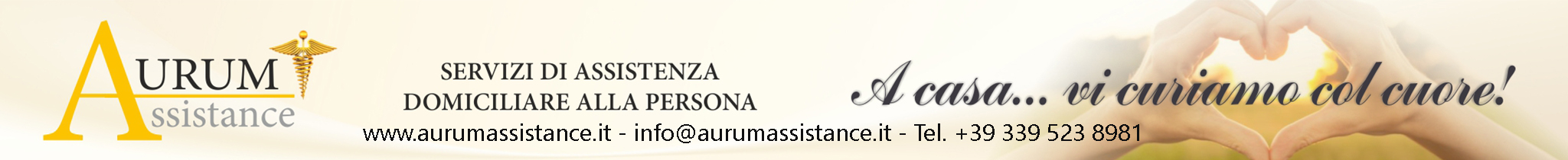 Aurum Assistance servizi domiciliari alla persona milano e provincia