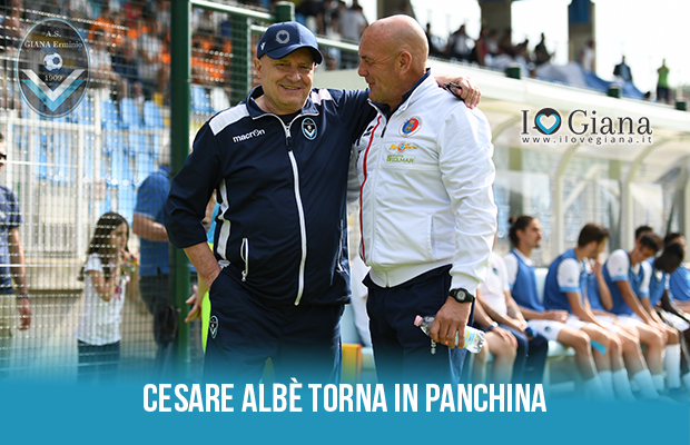 Cesare Albè torna in panchina