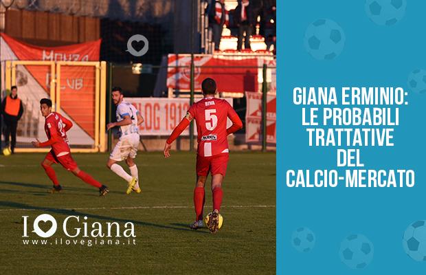 Giana Erminio CALCIO MERCATO GENNAIO