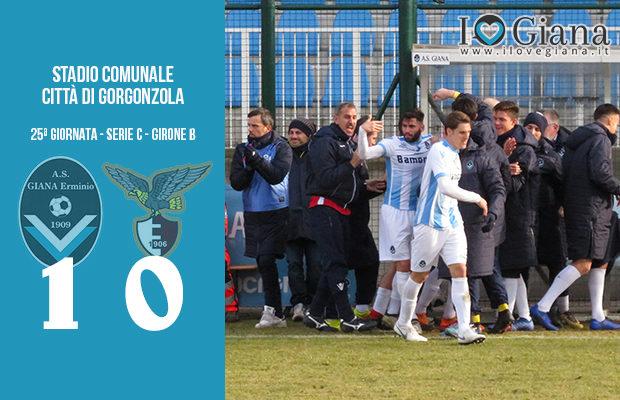 Giana Erminio Fano 1-0 serie C girone B