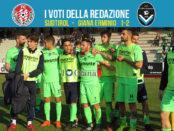 30 giornata Pagelle Sudtirol Giana 1-2