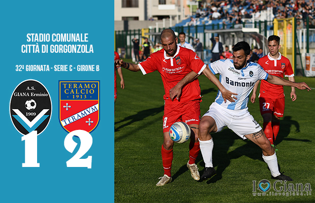 Giana Erminio Teramo 1-2 serie C girone B