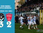 Giana Erminio Monza 3-2 serie C girone B