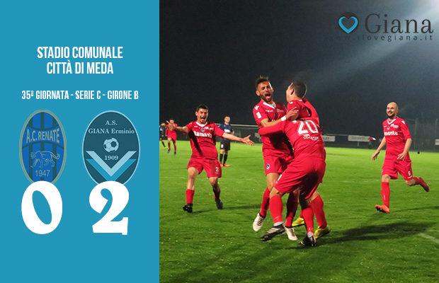 Renate Giana Erminio 0-2 serie C girone B