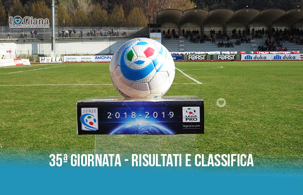 Renate Giana Erminio risultati e classifica 35 giornata serie C girone B