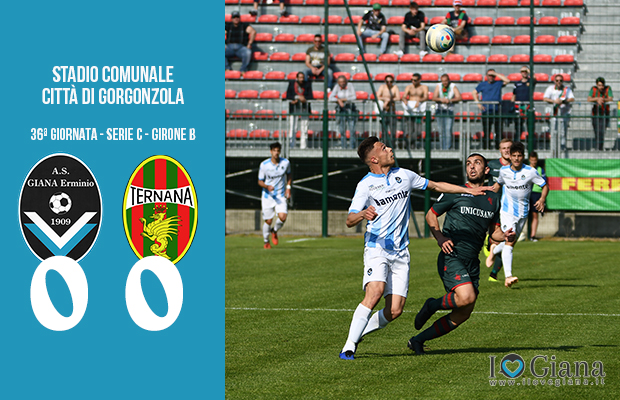 Giana Erminio Ternana 0-0 serie C girone B