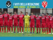 38 giornata Pagelle Giana Erminio Vis Pesaro 3-3