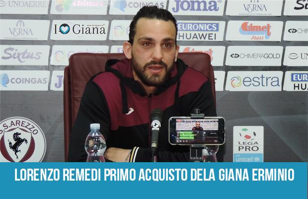 Lorenzo Remedi primo acquisto giana erminio