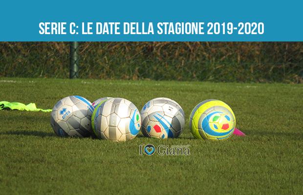 Serie c date stagione 2019_2020