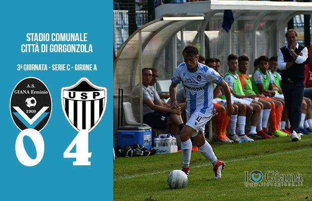 Giana Erminio Pianese 0-4 serie C girone A