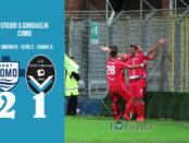 Como Giana Erminio 2-1 serie C girone A