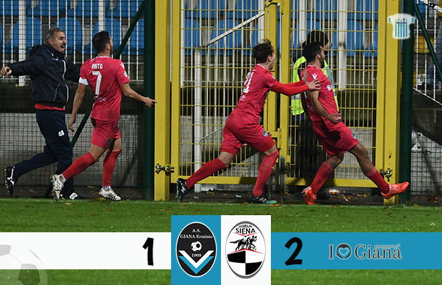 Giana Erminio Robur Siena 1-2 serie C girone A