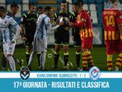 Giana Erminio Albinoleffe 1-2 risultati e classifica 17 giornata serie C girone A