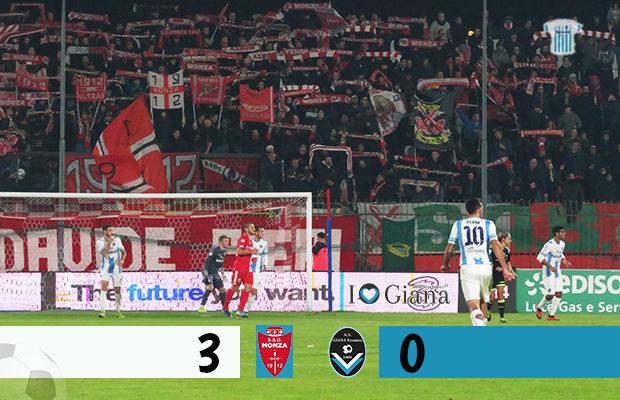 Monza Giana Erminio 3-0 serie C girone A