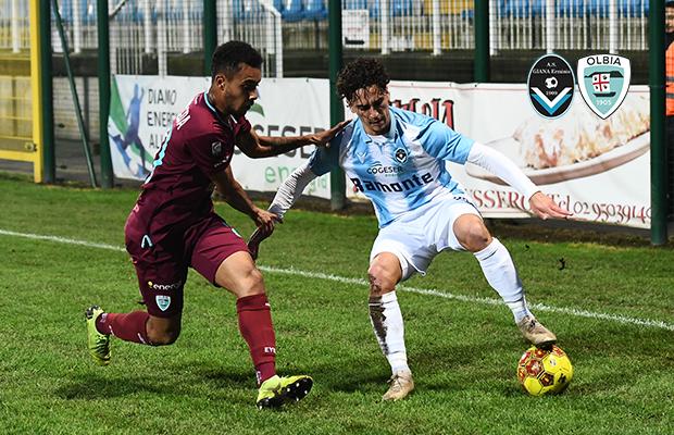 Marco Capano Giana Erminio Olbia 0-0