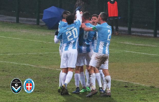 Giana Erminio Novara 2-2