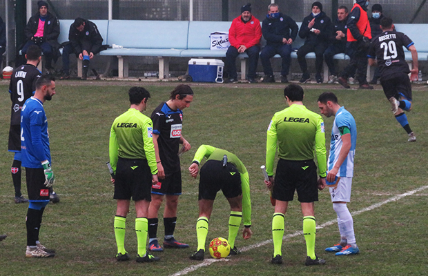 Giana Erminio Novara 2-2 serie C girone A