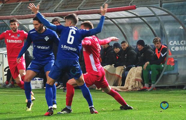Alessio Iovine Como Giana Erminio 2-1