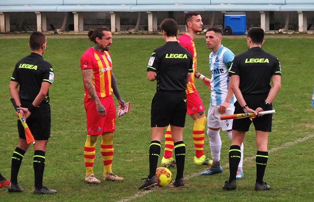 Pinto e Giorgione Giana Albinoleffe 0-1