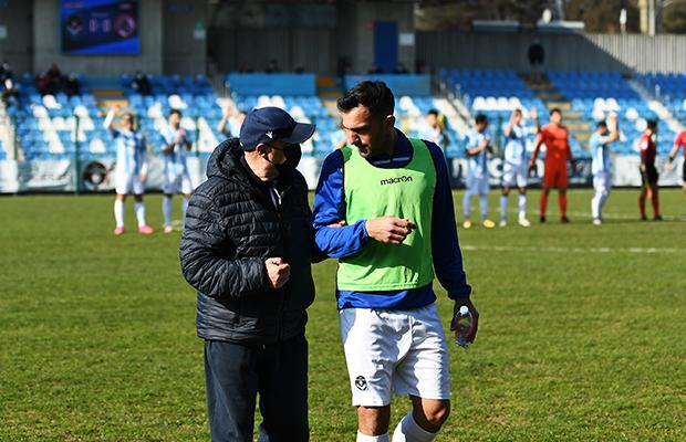 Cesare Albè e Fabio Perna Giana Livorno 1-0