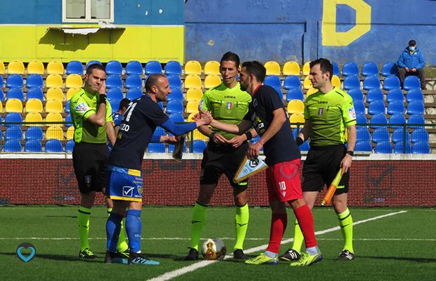 Fabio Perna e Andrea Luci Carrarese Giana 0-2