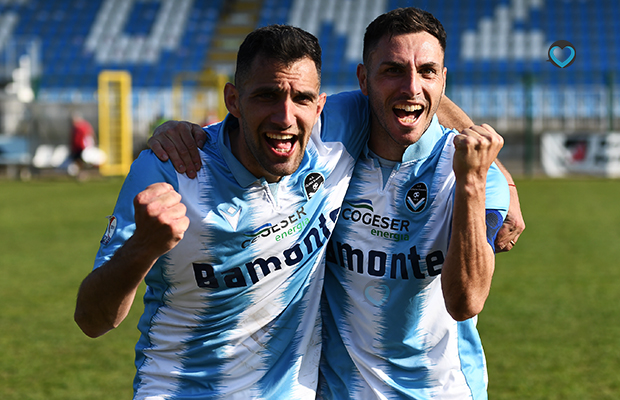 Fabio Perna e Daniele Pinto Giana Renate 2-1
