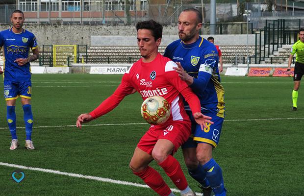 Marco Capano e Andrea Luci Carrarese Giana 0-2