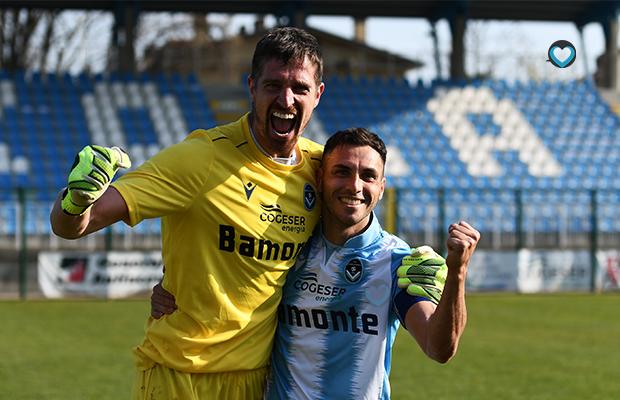 Paolo Acerbis e Daniele Pinto Giana Renate 2-1